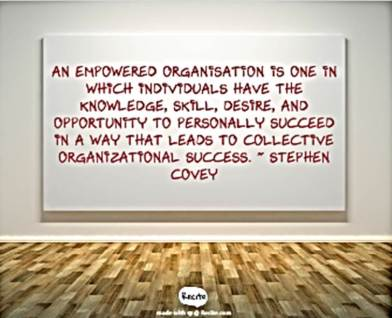 empowered organization