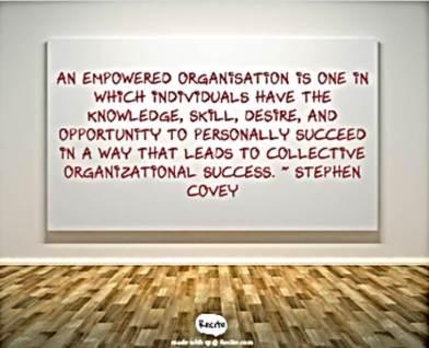 empowered organization