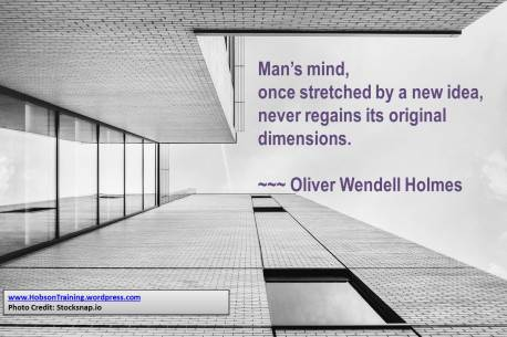 quote htd - a mans mind once stretched.pptx