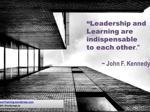 quote htd - JFK leadership
