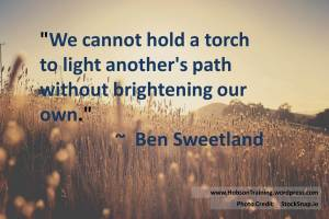 quote - hold a torch2