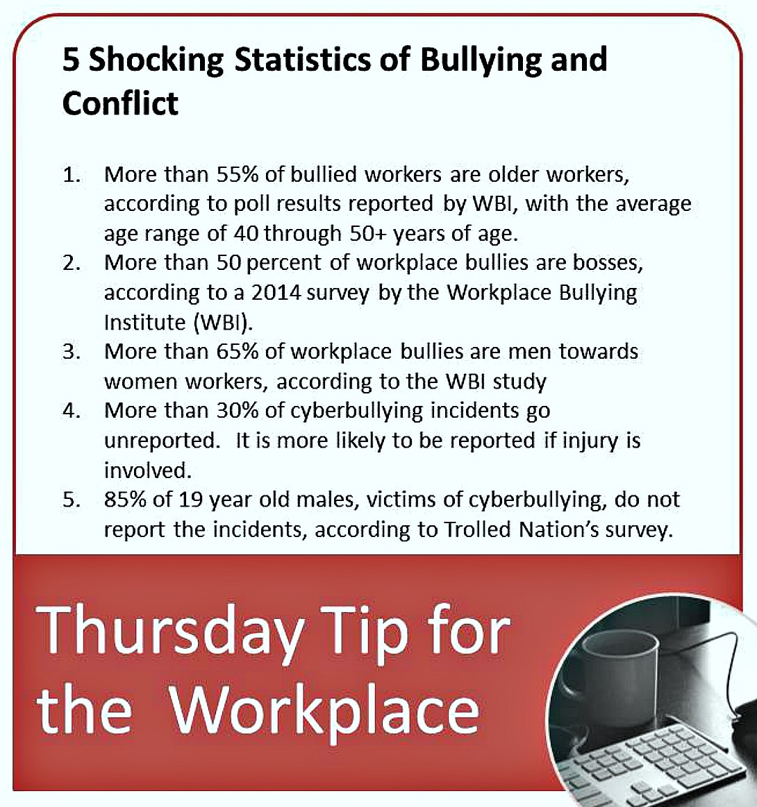 BPost -Thursday Tip for the Workplace 08-27-15
