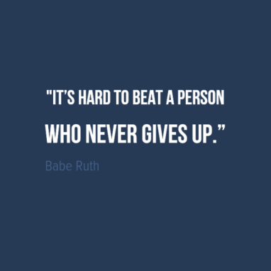 image - Wed quote - Babe Ruth