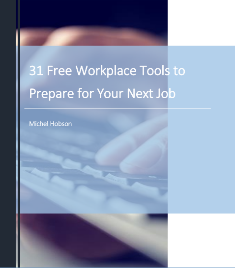 cover - 31 Workplace Tools Job Search