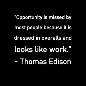 image - Wed quote - opportunity looks like work
