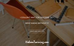 quote - Success Ahead