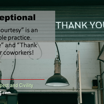 Workplace Civility Tip | Common Courtesy
