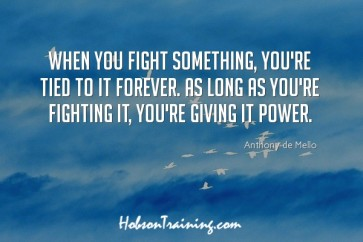 When You fight Somethig