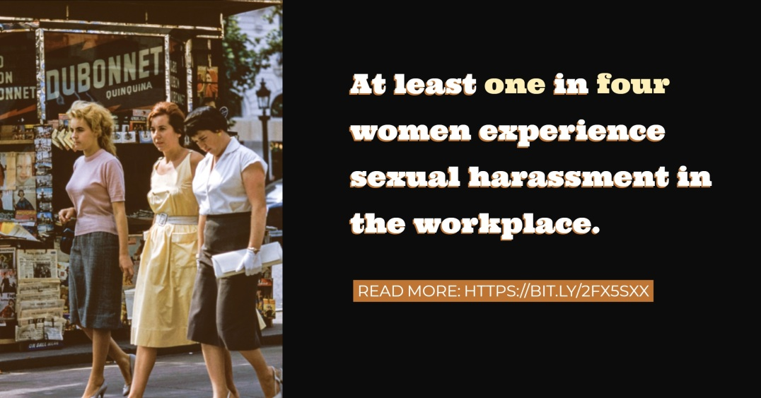 HTD Harassment - 1 in 4