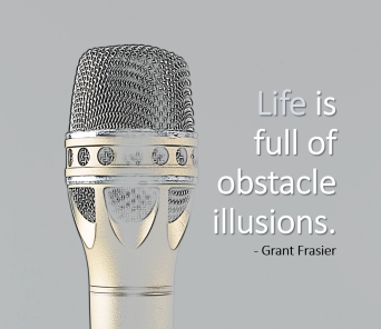 quote - life full of obstacles